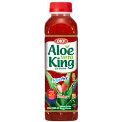 30% Aloe Vera King, Strawberry, sugar free- 500ml