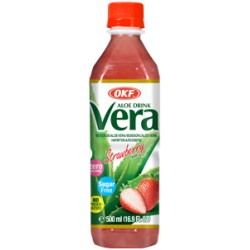 Aloe Vera, Strawberry, sugar free - 500 ml