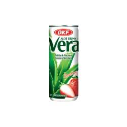 Vera Aloe, Strawberry - 240 ml