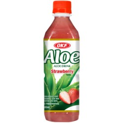 20% Aloe Vera, Strawberry - 500 ml