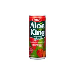 "30% Aloe Vera, King, OKF "" Φράουλα "" - 240 ml"