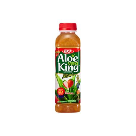 """30% Aloe Vera OKF """" Φράουλα """" - 500 ml"""