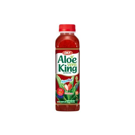 30% Aloe Vera King, Strawberry, sugar free- 500ml