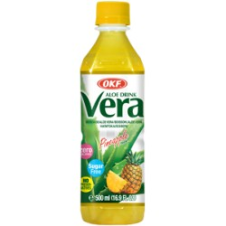 Vera Aloe, Pineapple, sugar free - 500 ml