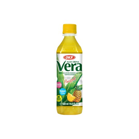 Vera Aloe, Pineapple, sugar free - 500 ml