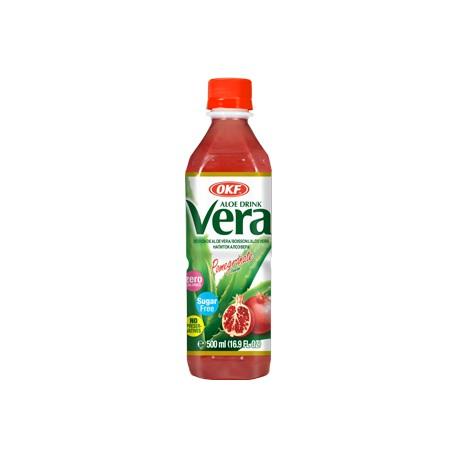 Vera Aloe, Pomagranate, sugar free - 500 ml
