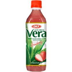 Vera Aloe, Φράουλα - 500 ml