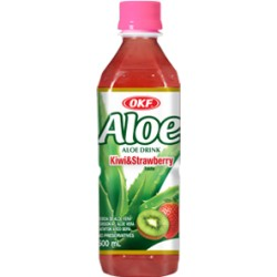 20% Aloe Vera, Kiwi + Strawberry - 500 ml