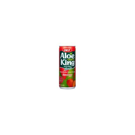 """30% Aloe Vera, King, OKF """" Strawberry """" - 240 ml"""