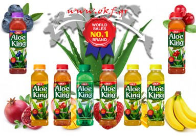 OKF - Vera Aloe Χωρίς ζάχαρη &  Χωρίς συντηρητικά & Χωρίς γλουτένη
